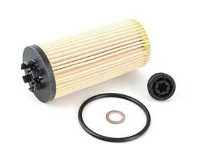 ES#3614153 - 11428593186 - Oil Filter Kit W/ O-Ring - MINI Cooper 2020+  - Quality replacement oil filter to ensure your oil stays contaminant free : F56+ B36C/B46C/B46D - Genuine MINI - MINI