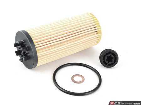 ES#3614153 - 11428593186 - Oil Filter Kit W/ O-Ring - MINI Cooper 2020+  - Quality replacement oil filter to ensure your oil stays contaminant free : F56+ B36C/B46C/B46D - Genuine MINI - MINI