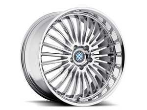 "ES#3988285 - multi1985c40KT - 19"" Beyern Multi Spoke Square Wheel Set - Chrome - Set your BMW apart with these sport styled Mesh wheels! 19x8.5"" ET40 5x120 72.56cb - Beyern Wheels - BMW"