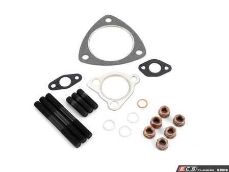 ES#2996527 - B518tftkt - FrankenTurbo Turbocharger Installation Kit - All hardware & gaskets to install a new turbocharger - Assembled By ECS - Audi