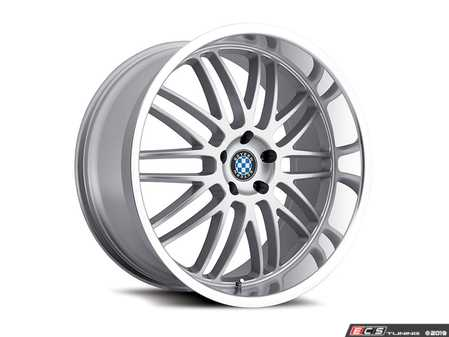 "ES#3988306 - bymesh1985s40KT - 19"" Beyern Mesh Square Wheel Set - Silver W/ Mirror Cut Lip - Set your BMW apart with these sport styled Mesh wheels! 19x8.5"" ET40 5x120 72.56cb - Beyern Wheels - BMW MINI"