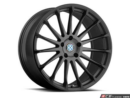 "ES#3988308 - aviatic1985g40KT - 19"" Beyern Aviatic Square Wheel Set - Matte Gunmetal W/ Gloss Black Lip - Set your BMW apart with these sport styled Aviatic wheels!