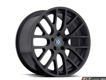 "ES#3988322 - spartan1895b25KT - 18"" Beyern Spartan Square Wheel Set - Matte Black - Set your BMW apart with these sport styled Spartan wheels!