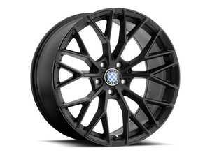 "ES#3988324 - antler1895b45KT - 18"" Beyern Antler Square Wheel Set - Matte Black W/ Gloss Black Face - Set your BMW apart with these sport styled Antler wheels! 18x9.5"" ET45 5x120 72.56cb - Beyern Wheels -"