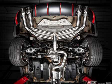 ES#3988358 - CBK0019 - APR 8V S3 Cat-Back Exhaust System - Non-Valved  - The APR Catback Exhaust System personalizes your vehicles looks, sound and performance - APR - Audi