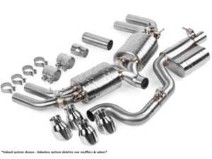 ES#3988358 - CBK0019 -  APR Cat-Back Exhaust System - Without Valves  - The APR Catback Exhaust System personalizes your vehicles looks, sound and performance - APR - Audi