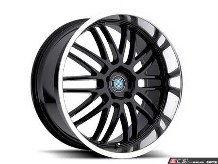 "ES#3988328 - bymesh1885b40KT - 18"" Beyern Mesh Square Wheel Set - Gloss Black W/ Mirror Cut Lip - Set your BMW apart with these sport styled Mesh Style wheels! 18x8.5"" ET40 5x120 72.56cb - Beyern Wheels - BMW"