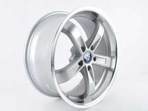 "ES#3675239 - ZZ060.000656 - Beyern Wheel - Type Five *Scratch and Dent* - 19"" x 8.5"" - ET15 - Silver *Please see description prior to ordering.* - Beyern Wheels - BMW"