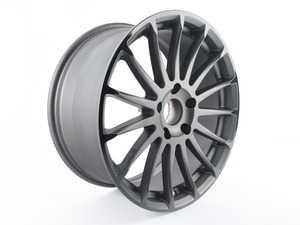 ES#3674135 - C3600080 - Beyern Wheel - Aviatic *Scratch and Dent*  - - 18x8.5 - Matte Gunmetal w/ Gloss Black Lip - ET30 - Beyern Wheels - BMW