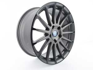 ES#3674134 - C3600079 -  Beyern Wheel - Aviatic *Scratch and Dent* - - 18x8.5 - Matte Gunmetal w/ Gloss Black Lip - ET30 - Beyern Wheels - BMW