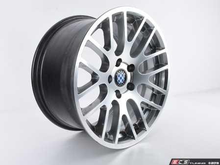 ES#3674127 - C3600035 - Beyern Wheel - Spartan *Scratch and Dent*  - 18x9.5 - ET45 - Hyper Silver - Rear Only - Beyern Wheels - BMW
