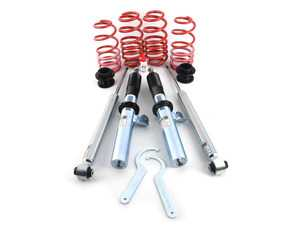 """ES#3639591 - 28851-18 - Tiguan MQB Ultra Low Coilover Kit - Fixed Dampening - For aggressive lowering. Average lowering front:2.6""""-3.0"""", rear: 2.2""""-3.0"""" - H&R - Volkswagen"""