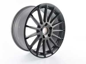 ES#3674133 - C3600078 - Beyern Wheel - Aviatic *Scratch and Dent*  - 18x8.5 - Matte Gunmetal w/ Gloss Black Lip - ET30 - Beyern Wheels - BMW