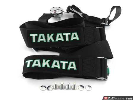 """ES#3505096 - 71001US-0 - Race 4 4-Point Racing Harness - Bolt Mounted - Black - Ensure your safety with this top of the line FIA approved 3"""" harness that developed specifically for the track! - Takata - Audi BMW Volkswagen Mercedes Benz MINI Porsche"""