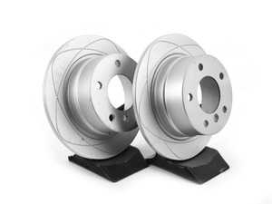 ES#3680480 - 34216794298kt4 - Rear PremiumOne Brake Rotors - Pair (272x10) - New brake rotor to restore your stopping power - Gas Slotted - ATE - BMW