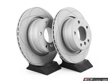 ES#3680481 - 34216766219kt4 - Rear Brake Rotors - Pair (294x19) - New brake rotor to restore your stopping power - Gas Slotted - ATE - BMW