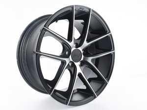 "ES#3988299 - M13019954350SD - 19"" Targa - Priced Each - *Scratch And Dent* - *Please see description prior to ordering* 19""x9.5"" ET50 5x112 - Black DDT/Machined - Niche Wheels - Volkswagen"