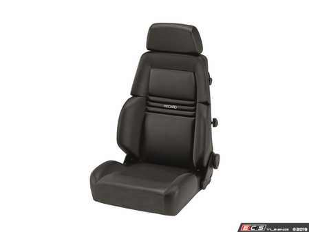 ES#3991405 - LTW.00.000 - Expert M Seat - This seat offers sleek comfort, styling and performance with integrated lumbar support. - Recaro - Audi BMW Volkswagen Mercedes Benz MINI Porsche