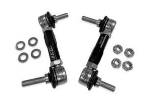 ES#3991559 - 034-402-4028 - Dynamic+ Billet Adjustable Rear Sway Bar End Links - Replace your flimsy, imprecise OEM sway bar end links - Designed to improve handling, road feel, and steering response! - 034Motorsport - Audi Volkswagen