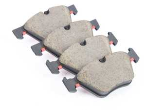 ES#3674673 - 34116771868 - Front Brake Pads set - Quality replacement brake pads from an original equipment supplier - Brembo - BMW