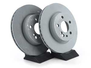 ES#2570095 - 140423041264KT5 - Rear Brake Rotors - Set Of Two - Does not include new rotor securing screws - Genuine Mercedes Benz - Mercedes Benz