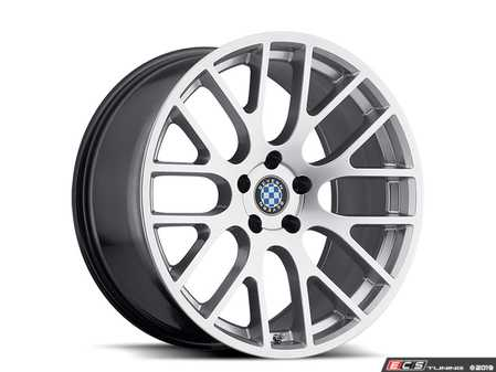 "ES#3994407 - spartan1895s45KT - 18"" Beyern Spartan Square Wheel Set - Hyper Silver - Set your BMW apart with these sport styled Spartan wheels!