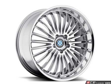 "ES#3994408 - multi1885c15KT - 18"" Beyern Multi Spoke Square Wheel Set - Chrome - Set your BMW apart with these sport styled Multi Spoke wheels!