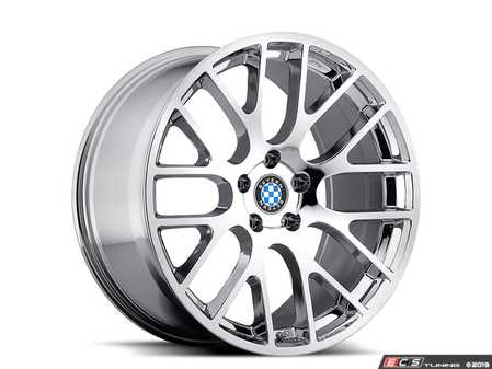 "ES#3994409 - spartan1885c40KT - 18"" Beyern Spartan Square Wheel Set - Chrome - Set your BMW apart with these sport styled Spartan wheels!