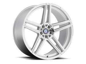 "ES#3994410 - gerade229s11KT - 22"" Beyern Gerade Square Wheel Set - Silver W/ Mirror Cut Face - Set your BMW apart with these sport styled Gerade wheels! 22x9"" ET11 5x120 72.56cb - Beyern Wheels - BMW"
