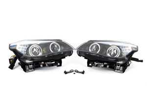 Adaptive Curve Bi-Xenon Headlights With Angel Eyes - Set