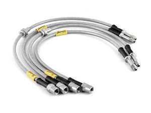 ES#3980142 - 31044 - G-Stop Stainless Steel Brake Line Kit - Front & Rear - Set of DOT-compliant lines for an improved pedal feel - Goodridge - BMW