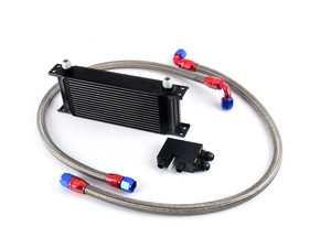 ES#3677138 - SG840251007 - FTP Motorsport Oil Cooler Kit  - Add an additional cooler to keep oil temps in the proper range. - FTP Motorsport - BMW