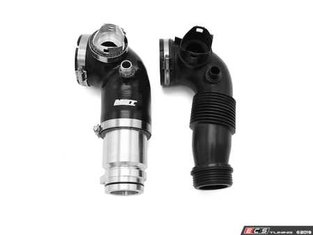 ES#3998769 - BW-N2002 - Turbo Inlet Pipe Upgrade - Replace your plastic OEM inlet pipe on your N20/N26 with a durable aluminum/silicone inlet - MST Performance - BMW