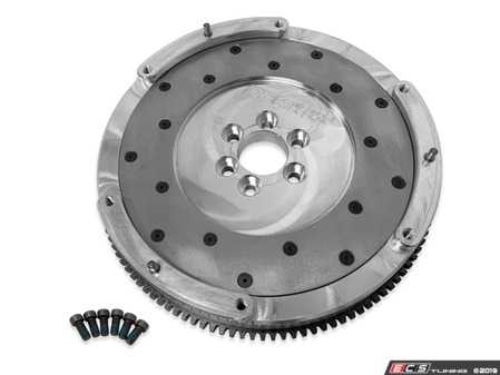 ES#3998857 - 034-503-1020 - Billet Aluminum Single-Mass Lightweight Flywheel - Weighing in at 12 lbs, allows for faster revving and easier rev matching when downshifting. - 034Motorsport - Audi