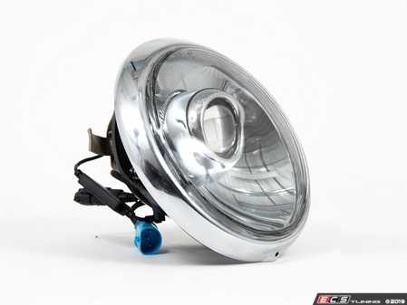 ES#3996469 - EL13CR.CL.CR - 911/930/964 LED Headlight Conversion Set - Chrome Reflector, Clear Lens, Chrome Trim Ring - Transform the Look and the night time drivability of your Classic Porsche - Rennline - Porsche
