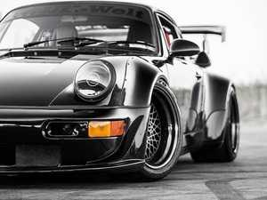 ES#3996467 - EL13BL.FL.PRI - 911/930/964 LED Headlight Conversion Set - Black Reflector, Fluted Lens, Primed Trim Ring - Transform the Look and the night time drivability of your Classic Porsche - Rennline - Porsche
