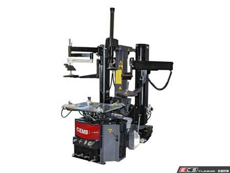 ES#3998959 - SM645HPA - High Performance Tilt-Back Tire Changer - With Help & Press Arms - Features adjustable Smart Blade bead breaker, a help arm, and a press arm - CEMB USA - Audi BMW Volkswagen Mercedes Benz MINI Porsche