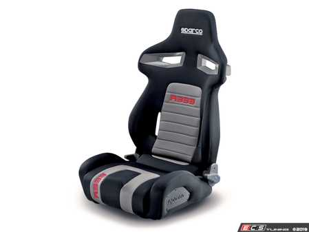 ES#3998944 - 00965 - R333 Sport Seat - High end styling and features make this an excellent upgrade over stock. - Sparco - Audi BMW Volkswagen Mercedes Benz MINI Porsche