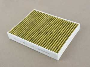 ES#3679352 - 7P5819631 - Charcoal Lined Cabin Filter / Fresh Air Filter - Filter the air coming into your vehicle - Genuine Volkswagen Audi - Volkswagen