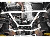 ES#3998778 - UR-LA4-1498 - Ultra Racing Countryman Front Lower Sub-frame Brace - 4 Points - Increase rigidity and improve chassis flex in your vehicle - Ultra Racing - MINI
