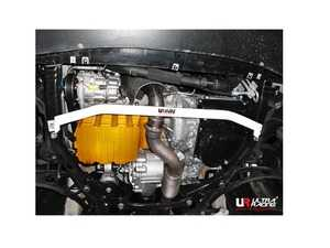 ES#3998776 - UR-LA2-2937 - Ultra Racing Countryman Front Lower Tie Brace - 2 Points - Increase rigidity and improve chassis flex in your vehicle - Ultra Racing - MINI
