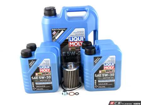 ES#3677549 - E53N62IN3KT - Inspection I/Oil Change Kit - Everything you'll need to do a basic oil change, including a K&P Engineering High Performance Stainless Steel Oil Filter! - Assembled By ECS - BMW