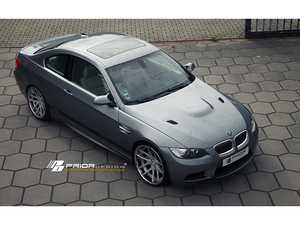 ES#3987731 - 4260609890778 - PD-M HOOD (without vents) - M3 style appearance for E9X 3 series - Prior Design - BMW