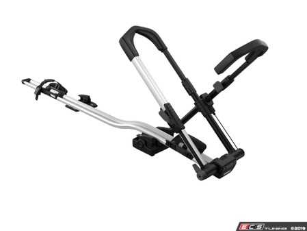 ES#3999421 - 599000 - Thule UpRide Bike Rack - Universal upright bike rack with no frame contact, for fast and secure mounting and maximum frame protection. - Thule - Audi BMW Volkswagen Mercedes Benz MINI Porsche