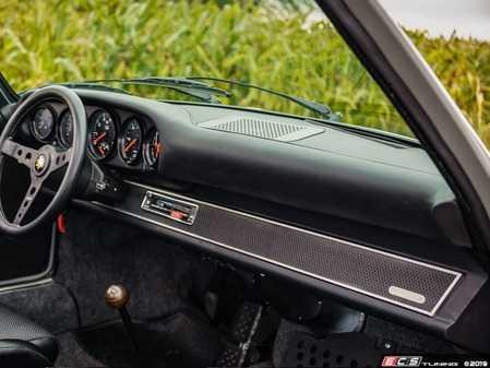ES#4000527 - DA75BW2 - 69-89 911/912/930 Dash Backdate - Factory Style Basketweave Insert - Fix up your classic Porsche's center dash with Rennline's new period correct insert options - Rennline - Porsche