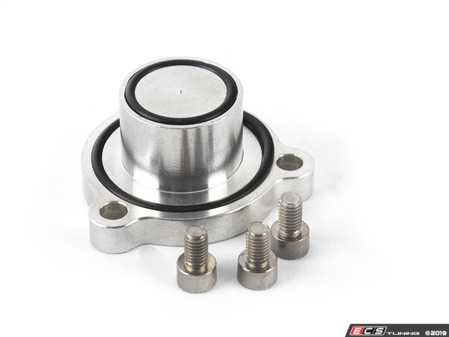 ES#3536825 - ATP-VVW-259 - 3 Bolt Style 2.0T FSI/TSI Block-off Flange  - Used to plug the factory diverter valve hole on the stock k03 turbo when using a aftermarket vacuum actuated diverter valve kit. - ATP - Volkswagen