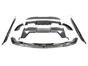 ES#4000644 - b2871fscfKT - Carbon Fiber Aerodynamic Full Package - Front Splitter, Side Skirts, Rear Diffuser assembly, and Rear Spoiler - PSM Dynamics - BMW