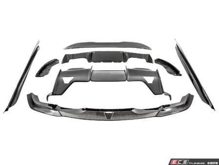 ES#4000644 - b2871fscfKT - Carbon Fiber Aerodynamic Full Package - Front Splitter, Side Skirts, Rear Diffuser assembly, and Rear Spoiler - PSM Dynamics - BMW