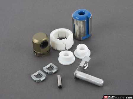 ES#3514151 - 25117580281KT6 - Shifter Rebuild & Upgrade Kit - Overhaul your shifter with this kit, featuring ECS Tuning Teflon shifter bushings & Turner Motorsport poly shift arm bushing - Assembled By ECS - BMW