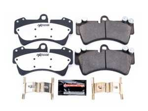 ES#3991189 - Z26-977 - Z26 Extreme Street Front Brake Pad Set - Carbon-fiber ceramic formula that offers extreme braking performance. Includes hardware. - Power Stop - Audi Volkswagen Porsche